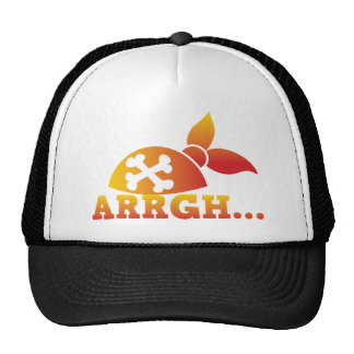 arrgh PRATE scurvy me hearties hat