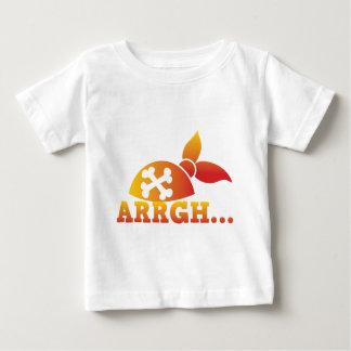 arrgh... PRATE scurvy me hearties hat  ! Baby T-Shirt