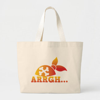arrgh PRATE scurvy me hearties hat Bag