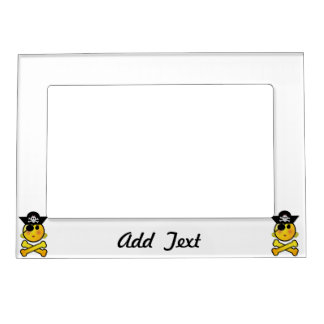 ARRGH! Smiley - Girl  Emoticon Pirate Magnetic Frames