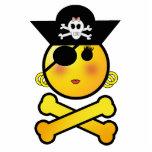 ARRGH! Smiley - Girl  Emoticon Pirate Photo Sculpture