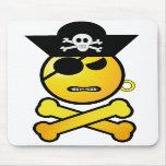 ARRGH! Smiley - GRR  Emoticon Pirate Mousepads