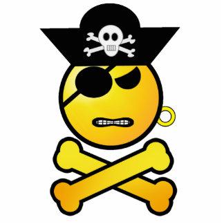ARRGH! Smiley - GRR  Emoticon Pirate Statuette