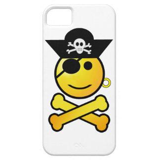 ¡ARRGH! Smiley - pirata sonriente del Emoticon Funda Para iPhone 5 Barely There
