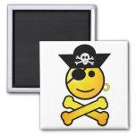 ARRGH! Smiley - Smiling Emoticon Pirate Refrigerator Magnets