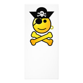 ARRGH! Smiley - Smiling Emoticon Pirate Rack Card