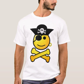 ARRGH! Smiley - Smiling Emoticon Pirate T-Shirt