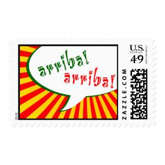arriba! arriba! : comic speech bubble stamp
