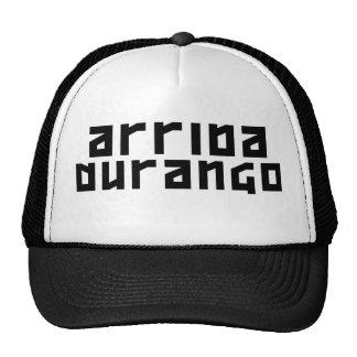Arriba Durango - negro original Gorros Bordados
