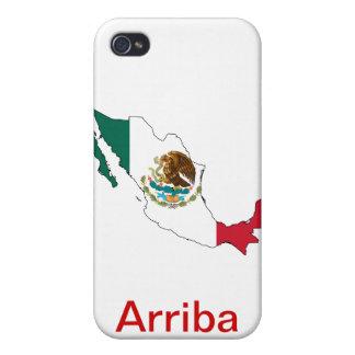 ¡Arriba México! iPhone 4 Carcasas