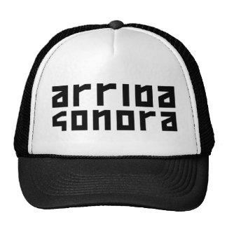 Arriba Sonora - Original Black Logo Hats
