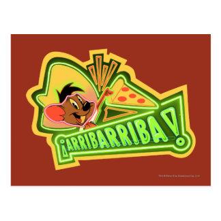 Arribarriba Pizza Postcard