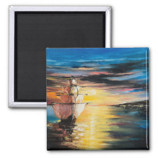 Arrival 2 Inch Square Magnet