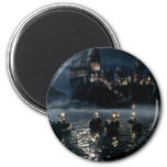 Arrival at Hogwarts 2 Inch Round Magnet