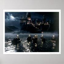 Arrival at Hogwarts Poster