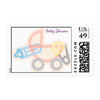 arrival_bottles_187159, Baby Shower Stamp