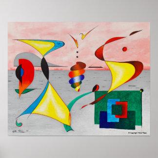 """""""Arrival"""" by Viktor Tilson Poster"""