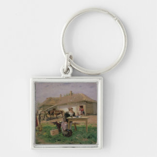 Arrival of a School Mistress in the Keychain