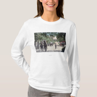 Arrival of a StagecoachHighland Springs, CA T-Shirt