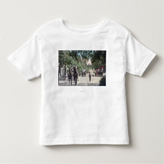 Arrival of a StagecoachHighland Springs, CA Toddler T-shirt