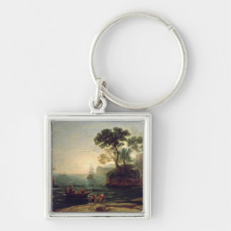 Arrival of Aeneas in Italy, the Dawn of the Keychain