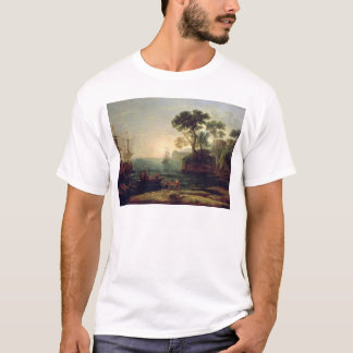 Arrival of Aeneas in Italy, the Dawn of the T-Shirt