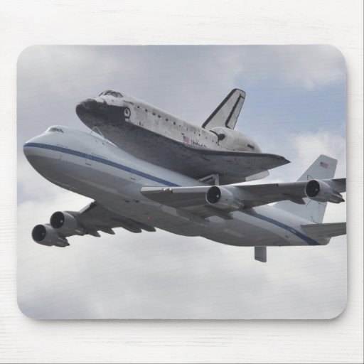 Arrival of Discovery Mouse Pad