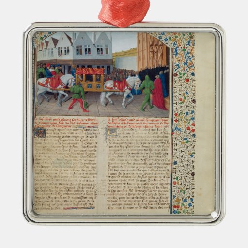 Arrival of Emperor Charles IV Christmas Tree Ornament