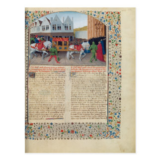 Arrival of Emperor Charles IV Post Cards