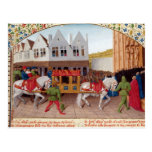 Arrival of Emperor Charles IV Postcard