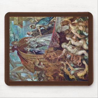 Arrival Of Marie De Medici In The Port Of Marseill Mouse Pad