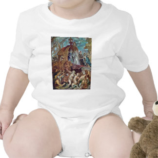 Arrival Of Marie De Medici In The Port Of Marseill Baby Bodysuits