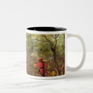 Arrival of Pontoneers for  Crossing of the Two-Tone Coffee Mug