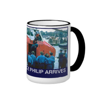Arrival of Prince Philip at the Arethusa Ringer Mug