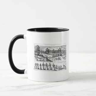Arrival of Queen Elizabeth I Mug