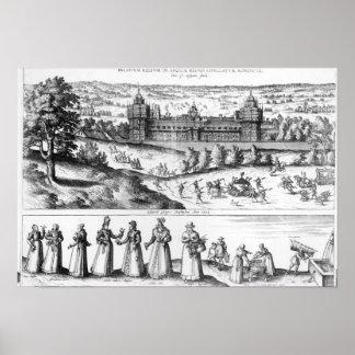 Arrival of Queen Elizabeth I Poster