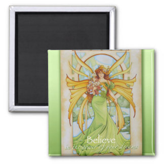 Arrival of Spring Faery Magnet