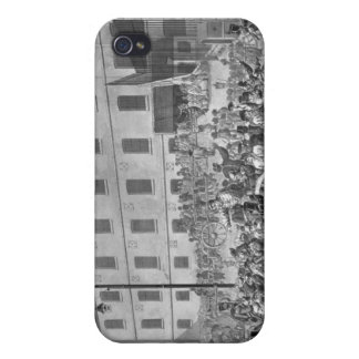 Arrival of the convicts at Bicetre iPhone 4 Cases