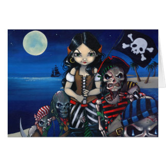 """""""Arrival of the Damned"""" Greeting Card"""