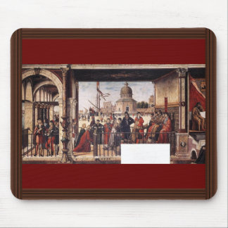 Arrival Of The English Ambassadors By Carpaccio Mouse Pad