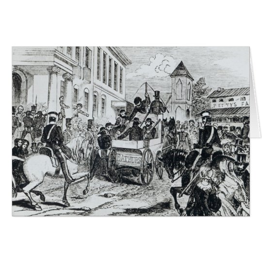 Arrival of the Government Conveyance Card