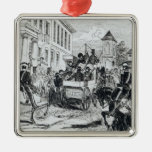 Arrival of the Government Conveyance Metal Ornament