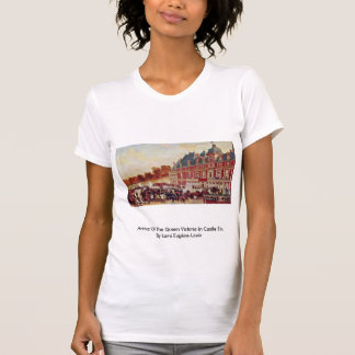 Arrival Of The Queen Victoria In Castle Eu Tshirt