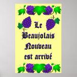 Arrivé de Le Beaujolais Nouveau est Impresiones