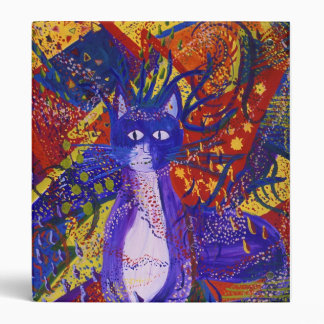 Arriving - Abstract Modern Love Party 3 Ring Binder