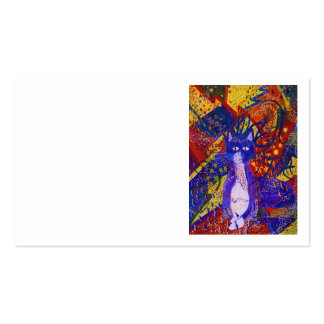Arriving - Abstract Modern Love Party Business Card