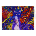 Arriving - Abstract Modern Love Party Greeting Card
