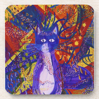 Arriving - Abstract Modern Love Party Drink Coaster