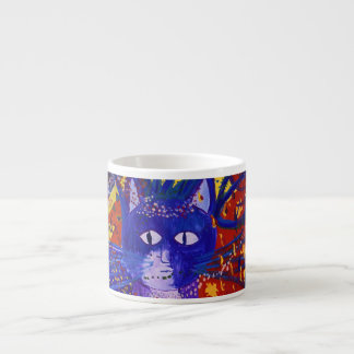 Arriving - Abstract Modern Love Party Espresso Cup