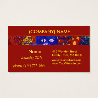 Arriving, Abstract Modern Love Party from Beyond Business Card